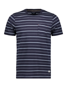 Jack & Jones T-shirt JPRMATT STRIPE BLU TEE SS CREW NECK 12152760 Navy Blazer/SLIM FIT