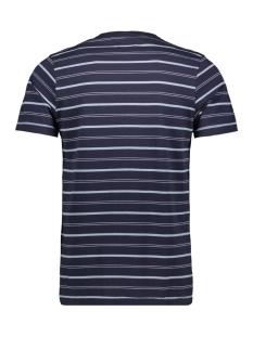 jprmatt stripe blu tee ss crew neck 12152760 jack & jones t-shirt navy blazer/slim fit