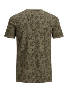 jprtreyden aop blu. tee ss split ne 12154611 jack & jones t-shirt sea turtle/slim fit