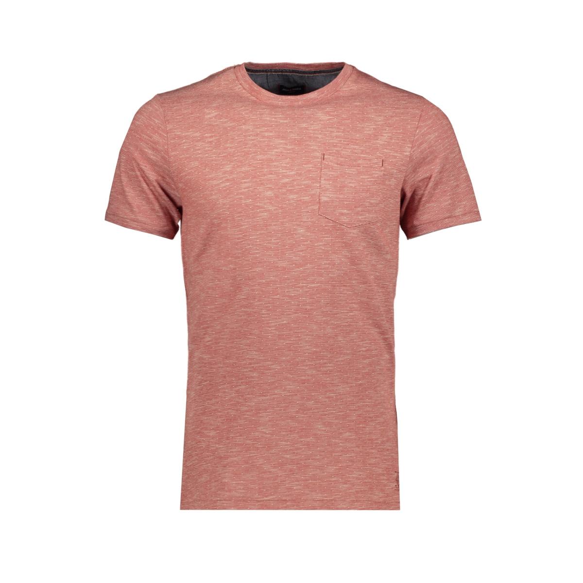 jprpaxon blu. tee ss crew neck 12153494 jack & jones t-shirt ketchup/slim fit