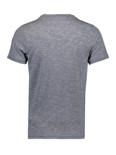 jprpaxon blu. tee ss crew neck 12153494 jack & jones t-shirt estate blue/slim fit