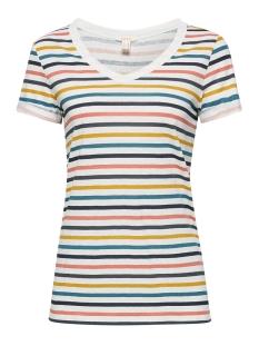 Esprit T-shirt PRINTED SHIRT MET V HALS 059EE1K031 E110