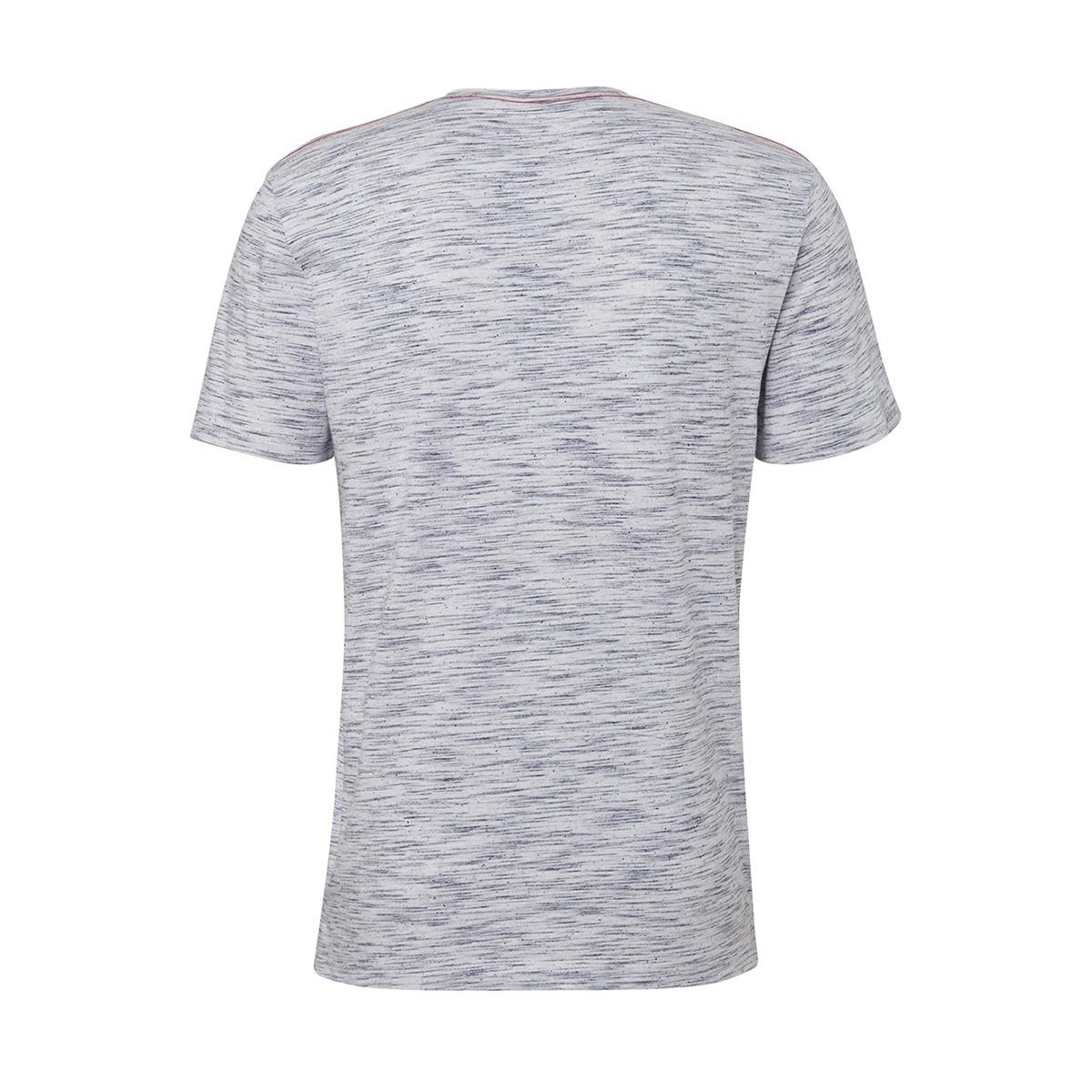 henley shirt met melange look 1011540xx10 tom tailor t-shirt 17960
