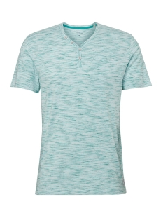 Tom Tailor T-shirt HENLEY SHIRT MET MELANGE LOOK 1011540XX10 17957