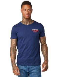 t shirt met tekstprint 1011369xx12 tom tailor t-shirt 10860