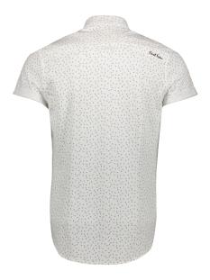 printed pique jersey csis193641 cast iron overhemd 7003