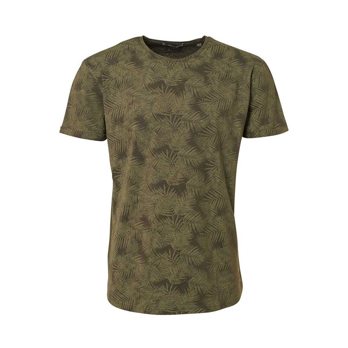 t shirt printed 91340401 no-excess t-shirt 055 olive