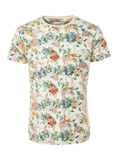 NO-EXCESS T-shirt T SHIRT MULTI COLOUR 91350432 100 ECRU MELE