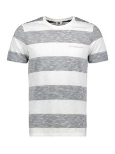 jcostray tee ss crew neck 12146217 jack & jones t-shirt sky captain/slim