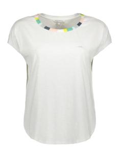 Sandwich T-shirt 21101689T SHIRT MET STREEPDETAIL 21101689 10058