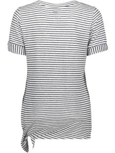 gestreept t shirt met knoopdetail 21101691 sandwich t-shirt 10058
