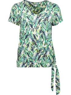 Sandwich T-shirt T SHIRT MET KNOOPDETAIL 21101693 50024