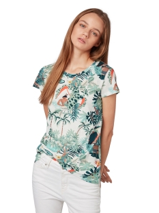 t shirt met motief 1010920xx71 tom tailor t-shirt 16597