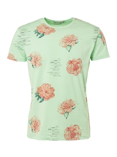 NO-EXCESS T-shirt T SHIRT PRINTED 91340609 010 LT GREEN