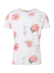 t shirt printed 91340609 no-excess t-shirt 051 white