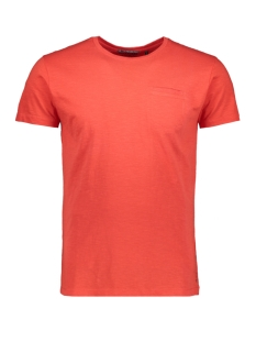 NO-EXCESS T-shirt SLUB JERSEY T SHIRT 91350513 060 Red