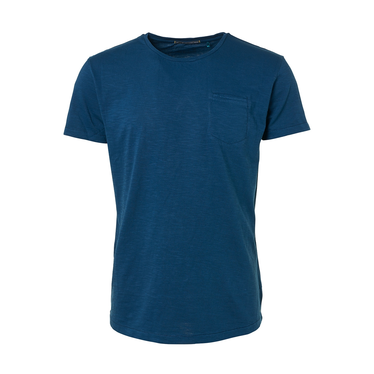 slub jersey t shirt 91350513 no-excess t-shirt 132 shadow blue