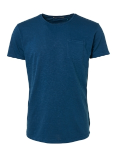 NO-EXCESS T-shirt SLUB JERSEY T SHIRT 91350513 132 SHADOW BLUE