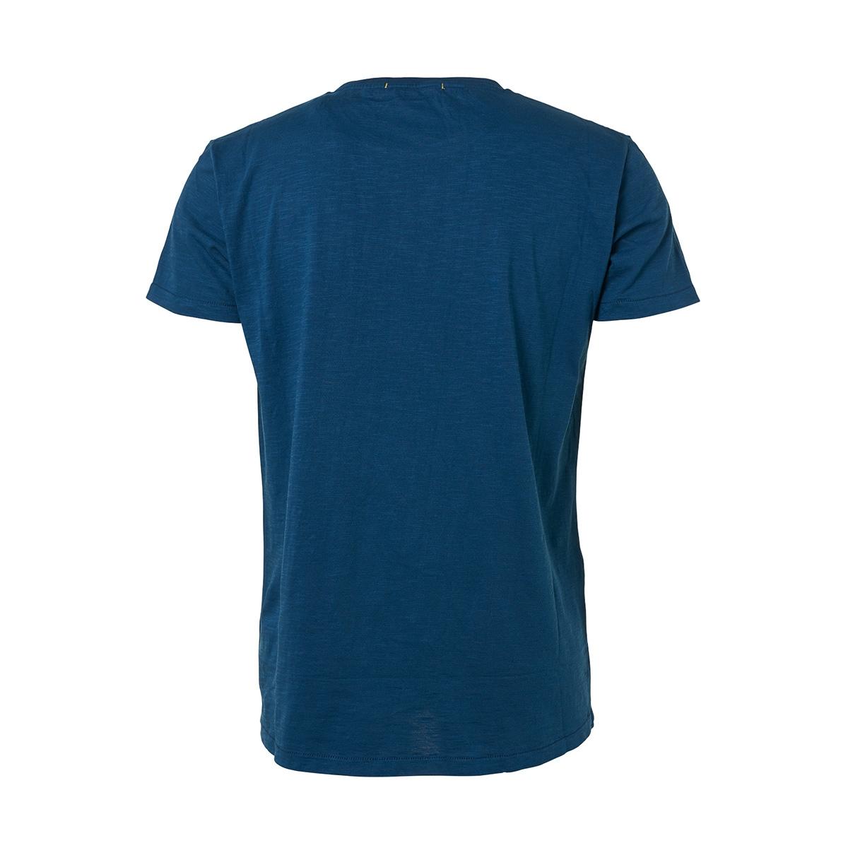 slub jersey t shirt 91350513 no-excess t-shirt 132 shadow blue