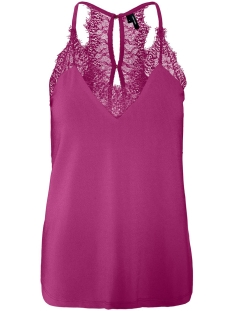 Vero Moda Top VMMILLA S/L LACE TOP COLOR 10209420 Festival Fuchsia