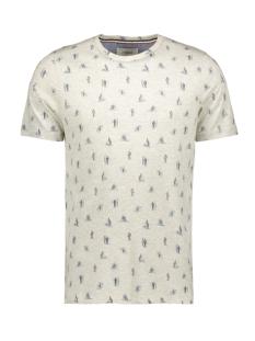 Produkt T-shirt PKTGMS DUDE AOP TEE SS 12153738 White Melange