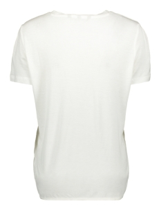 vmmelon ss top jrs 10214790 vero moda t-shirt snow white/guavalicious