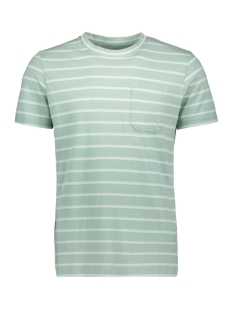Jack & Jones T-shirt JCOKLARK TEE SS CREW NECK 12152495 Blue Surf/SLIM