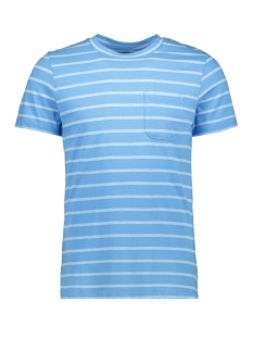 Jack & Jones T-shirt JCOKLARK TEE SS CREW NECK 12152495 Azure Blue/SLIM