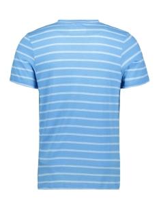 jcoklark tee ss crew neck 12152495 jack & jones t-shirt azure blue/slim