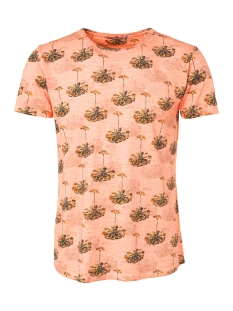 NO-EXCESS T-shirt ALL OVER PRINTED T SHIRT 91350431 091 SALMON