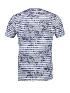t shirt met allover print 2943094 lerros t-shirt 245