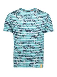Lerros T-shirt T SHIRT MET ALLOVER PRINT 2943094 428