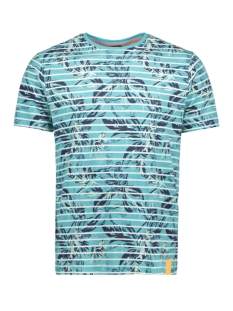 t shirt met allover print 2943094 lerros t-shirt 428