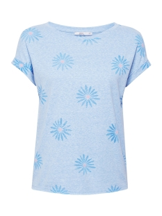 EDC T-shirt ZACHT SHIRT MET ARTWORK 059CC1K018 C440