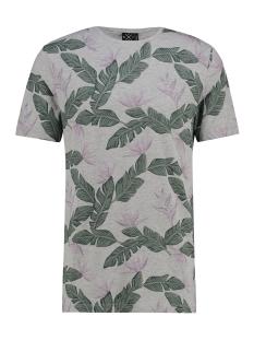Kultivate T-shirt TEE AFRICAN JUNGLE 1901020222 153 LIGHT GREY MELANGE