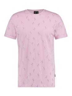 Kultivate T-shirt TEE PURPLE BIRDS 1901020225 479 THISTLE