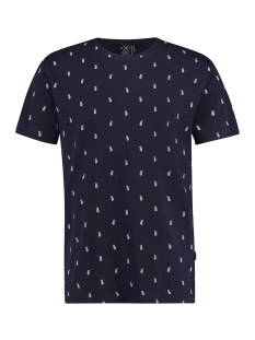 Kultivate T-shirt TEE ANANAS 1901020239 319 DARK NAVY