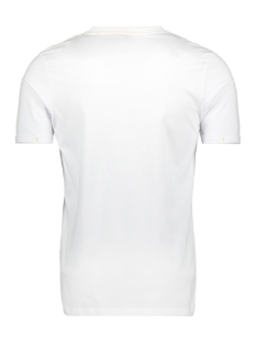 jconew bercamp tee ss crew neck 12163083 jack & jones t-shirt white/slim