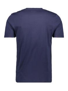 jconew bercamp tee ss crew neck 12163083 jack & jones t-shirt martime blue/slim
