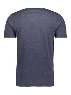 jconew bercamp tee ss crew neck 12163083 jack & jones t-shirt martime blue/mel. slim