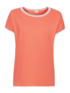 Esprit T-shirt SHIRT MET GLINSTERENDE RAND 069EE1K048 E645