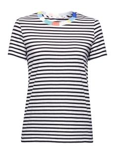 EDC T-shirt GESTREEPT SHIRT MET SIERRAND 069CC1K022 C100