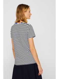 gestreept shirt met sierrand 069cc1k022 edc t-shirt c100