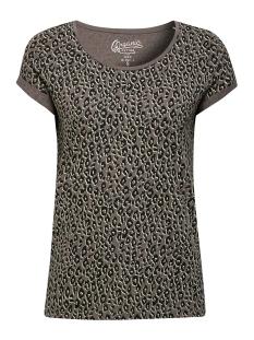EDC T-shirt SHIRT MET LUIPAARDPRINT 069CC1K069 C010