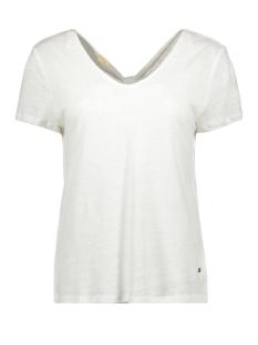 Esprit T-shirt LINNEN TSHIRT MET STRIK 069EE1K009 E100