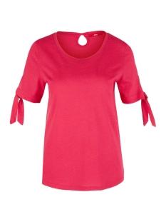 s.Oliver T-shirt JERSEY SHIRT MET GEKNOOPTE DETAILS 05906324038 4565