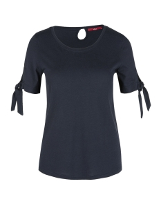 s.Oliver T-shirt JERSEY SHIRT MET GEKNOOPTE DETAILS 05906324038 5959