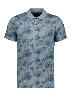 Jack & Jones Polo JPRJEREMY BLU. POLO SS 12154550 Faded Denim/MELANGE