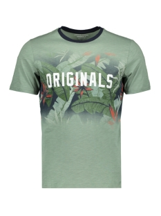 Jack & Jones T-shirt JORNEWOLYMPIA TEE SS CREW NECK 12160833 Green Bay/SLIM