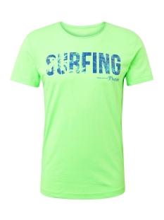 t shirt met tekst 1011137xx12 tom tailor t-shirt 17734